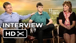 Heaven Is for Real Interview - Burpo Family (2014) - Religious Family Movie HD