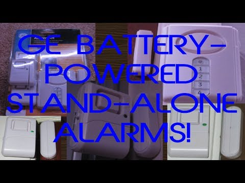 Unbox and Set Up the General Electric (GE) Personal Security Alarm Kit