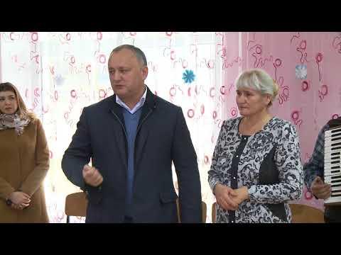 Președintele Igor Dodon a întreprins o vizită de lucru în raionul Șoldănești