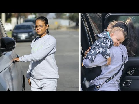 Pregnant Christina Milian Enjoys Mommy Time With Her Children