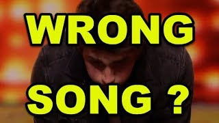 """Video He Made WRONG Song Choice then Simon Asks for IMPOSSIBLE? Drop The """"Paper"""" ??? MP3, 3GP, MP4, WEBM, AVI, FLV November 2018"""