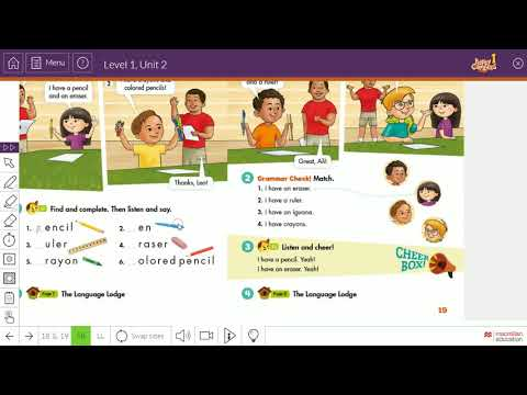 Class 1 review of units 1 2 3 4 happy campers 1