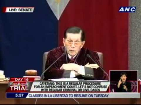 Enrile: Normally, prosecution gathers the evidence w/o participation of the court