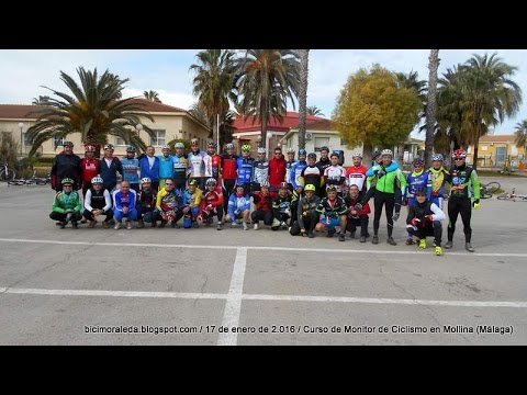 Curso de Monitor de Ciclismo en Mollina (Málaga)