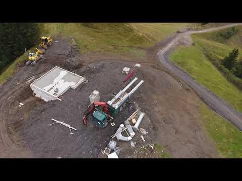 Suivi du chantier du TSD6 du Ranfoilly du 3 au 10 septembre 2017