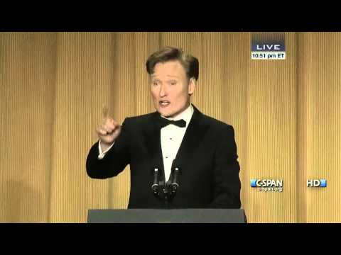 c span - From C-SPAN coverage, Conan O'Brien remarks at the 2013 White House Correspondents' Dinner. Watch the complete video here: http://cs.pn/1886TAu.