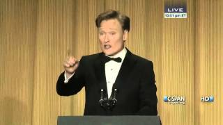 Video Conan O'Brien remarks at 2013 White House Correspondents' Dinner (C-SPAN) MP3, 3GP, MP4, WEBM, AVI, FLV September 2019
