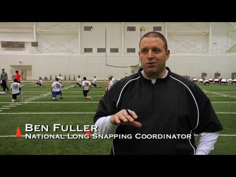 Long Snapping Coach on the Instruction at Prokicker.com Long Snapping Camps