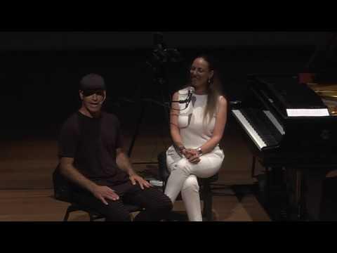 Body Drumming – Danny Rachum with Pianist Orit Wolf דני רחום מתארח אצל הפסנתרנית אורית וולף