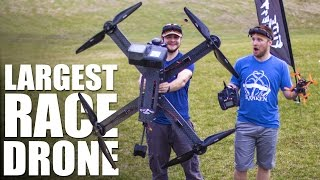 Video World's Largest Race Drone | Flite Test MP3, 3GP, MP4, WEBM, AVI, FLV Agustus 2018