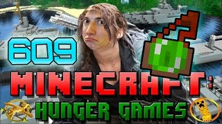 Minecraft: Hunger Games w/Mitch! Game 609 - EPIC ALMOST ESCAPE!