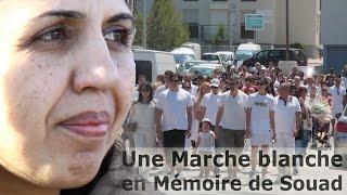 La Seyne-sur-Mer France  city photo : Une Marche blanche en Mémoire de Souad à La Seyne sur Mer