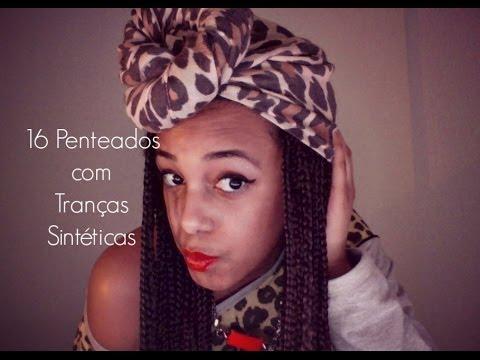 ♡Tranças Sintéticas/Box Braids #7 - 16 Penteados Simples♡