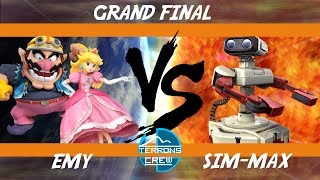 4th Terrons League [GF]: Emy (Peach, Wario) vs Sim-Max (R.O.B.) [ITALIAN SCENE]