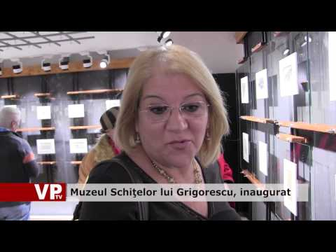 Muzeul Schiţelor lui Grigorescu a fost inaugurat