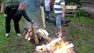 Fire walking 2016 Śląska ferajna