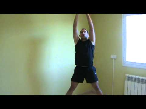 Ejercicio funcional para abdominales brazos y hombros - Cross fit