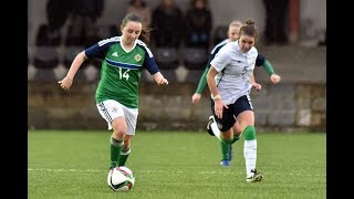 Northern Ireland Women Under 19's player Megan Beattie shares swapping gymnastics for football and how coming up against Europe's best is a welcome test at the UEFA Women's Under 19 Championships in August.