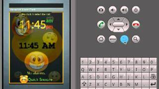 Animated Alarm Clock Widget YouTube video