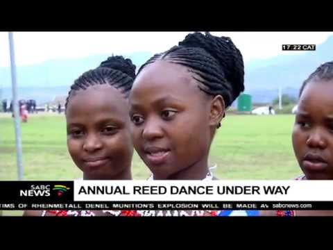 Thousands of maidens attend the annual Reed Dance