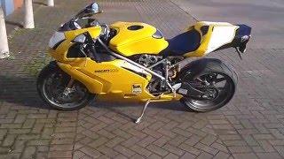 8. 2004 Ducati 999S mono....yellow.