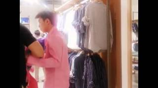 0618逆襲網絡劇刺猬夫夫日常粉襯衫p3 Counterattack webseries Chiwei daily shooting pink shirt p3