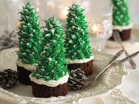 cupcake albero di natale - la videoricetta
