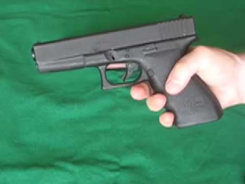 Glock 21 .45 ACP Semi Auto Pistol In-Depth Review with Shooting Demonstration
