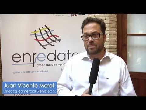 Entrevista a Juan Vicente Moret, Director Comercial de Bienetec en Enrédate Alzira