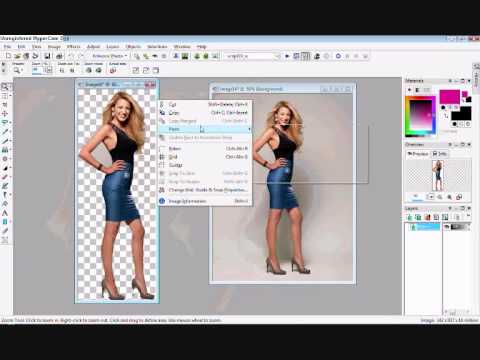 How to Remove the Background/Cut out People on Paint Shop Pro