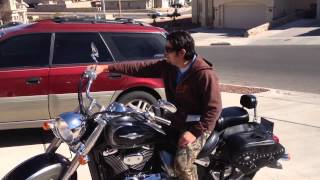 10. My friend David's First Bike a Suzuki Boulevard C50