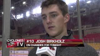 CYCLONES TV: Morning Skate Report - October 9, 2013
