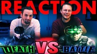 Solid Snake VS Sam Fisher DeathBattle REACTION!!