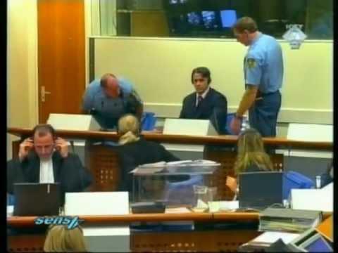 Naser Oric - Incident u sudnici Haskog Tribunala