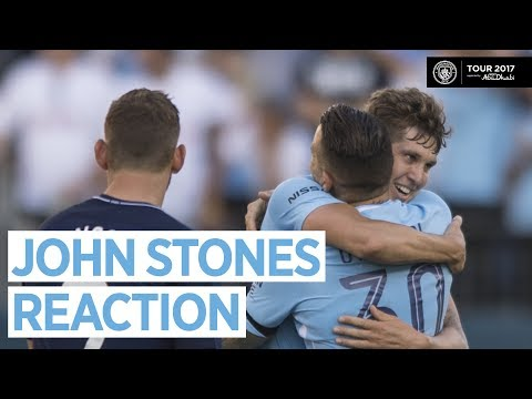 Video: STONES ON SPURS WIN   Man City 3-0 Tottenham   Interview