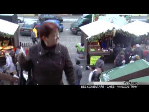 Chebské vánoční trhy 2012 - reportáž TV Západ