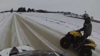 3. Can-Am Renegade 800R vs 800HO