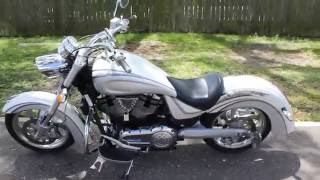 9. 2005 VICTORY KINGPIN 1507CC POLARIS VTWIN CRUISER 92 CI WALK AROUND START UP AT RIDE PRO