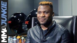 Video Francis Ngannou full interview ahead of UFC 220 MP3, 3GP, MP4, WEBM, AVI, FLV November 2018