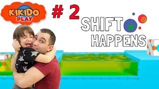 👽 Shift Happens #2 Пытаемся выбраться из лаборатории. Строим пирамиды из кубиков. Lets Play Кикидо