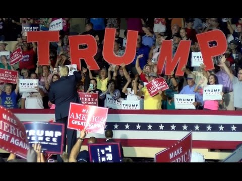 friday october 21 2016 full replay of the donald j trump for president rally in newton pa at the newtown athletic club sports training center live str