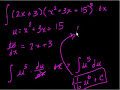 Indefinite Integration – Part IV Video Tutorial