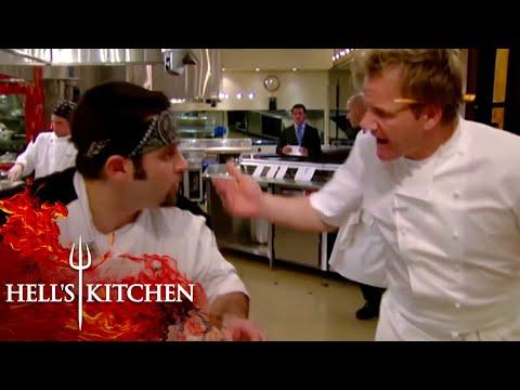 Gordon Versus Amateur Cooks | Hell's Kitchen