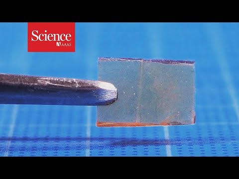 This new material heals—not cracks—under pressure (видео)