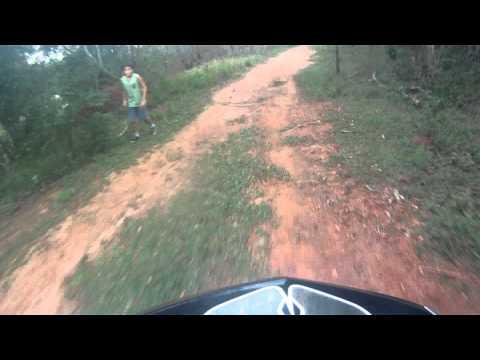 Treino em Miguel Pereira - Pista nova