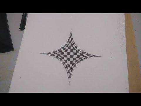 Ilusão de ótica 3D