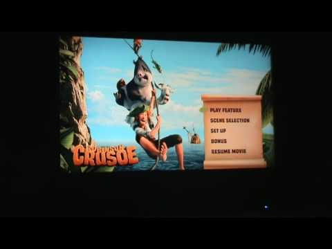 Opening to Robinson Crusoe UK DVD (2016)
