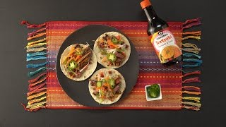 Grilled Teriyaki Tacos with Bacon-Jalapeno Slaw by Tastemade