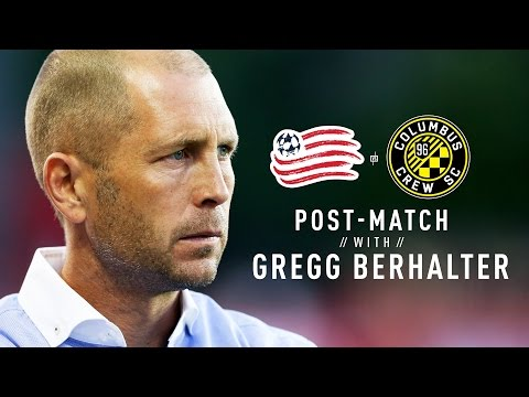 Video: Post-Match with Gregg Berhalter | #NEvCLB