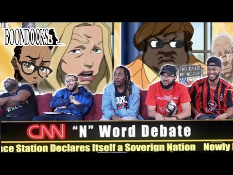 """The Boondocks 2 x 11 Reaction! """"The """"S"""" Word"""""""